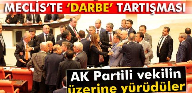 Meclis'te 'darbe' tartışması