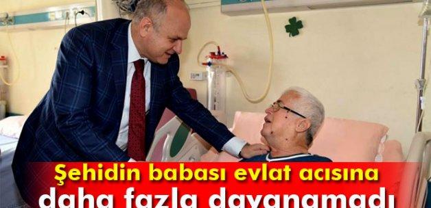 Mersinli Şehit Yüzbaşı Çiga'nın babası vefat etti