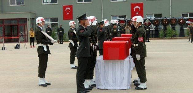Midyat şehitleri için tören düzenlendi