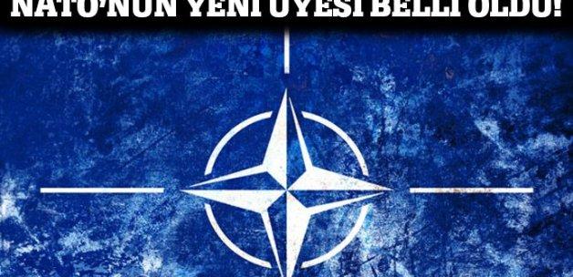 NATO'nun yeni üyesi belli oldu!