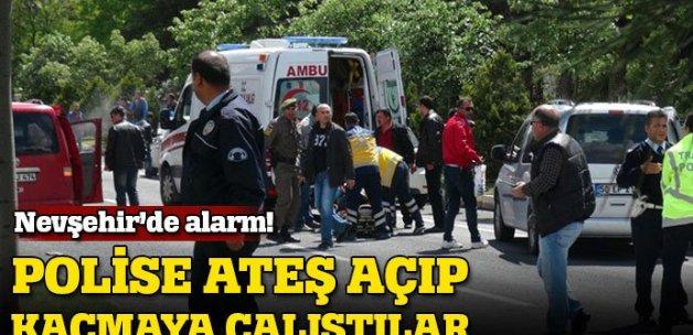 Nevşehir'de 3 Afganlı, polise ateş açarak kaçmaya çalıştı