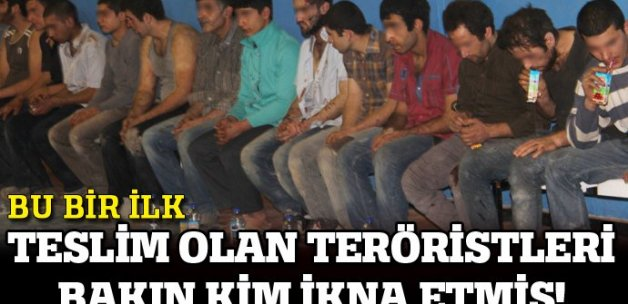 Nusaybin'de teslim olan 25 PKK'lının sorgusu devam ediyor
