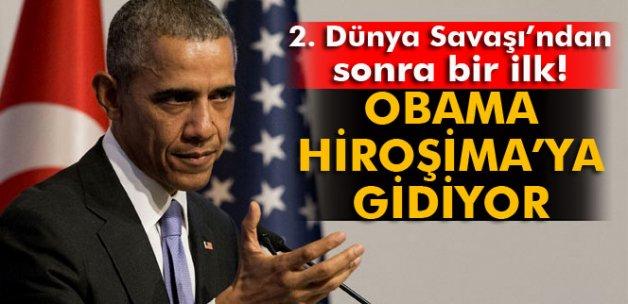 Obama, Hiroşima'ya gidiyor