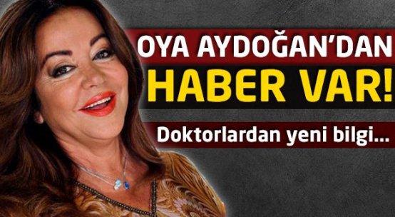 Oya Aydoğan'dan sevindiren haber