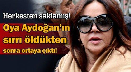 Oya Aydoğan, herkesten gizli Mutlu Kaya'ya yardım etmiş