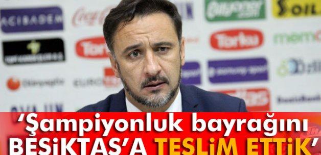 Pereira: 'Şampiyonluk bayrağını Beşiktaş'a teslim ettik'