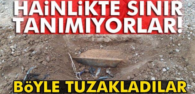 PKK köy yollarını tuzakladı