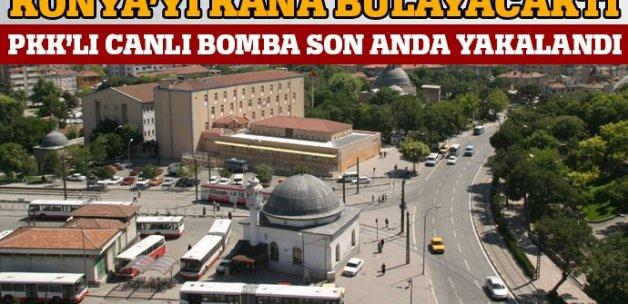 PKK'lı canlı bomba son anda yakalandı
