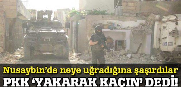 PKK o ilçede köşeye sıkıştı! 'Yakarak kaçın' talimatı
