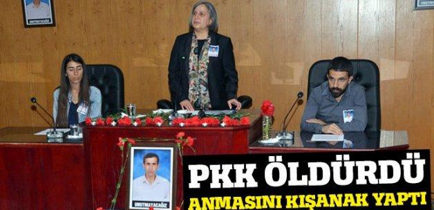 PKK öldürdü, anmasını Gültan Kışanak yaptı