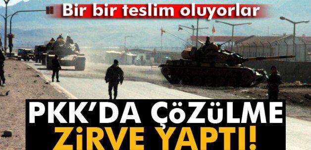 PKK'da çözülme zirve yaptı