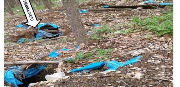 PKK'ya ait depo bulundu
