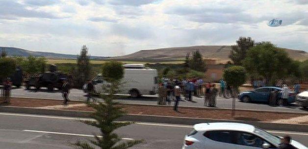 Polis ekiplerine silahlı saldırı
