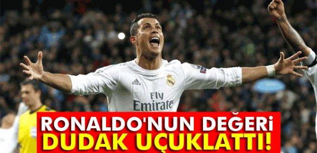 Ronaldo, 4 Macaristan Milli Takımı değerinde