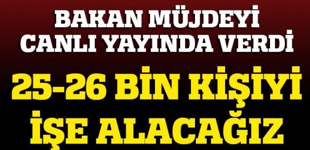 Sağlık Bakanı Müzezzinoğlu: 25-26 bin kişiyi işe alacağız