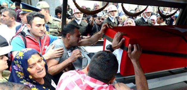 Şehit Uzman Çavuş Mehmet Kılınç Malatya'da toprağa verildi