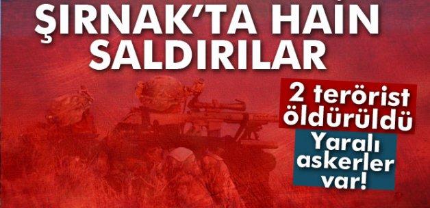Şırnak'ta çatışma: 2 terörist öldürüldü