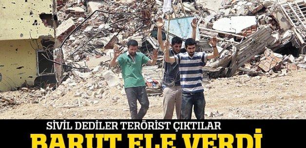 'Sivil' dedikleri eli barutlu katil