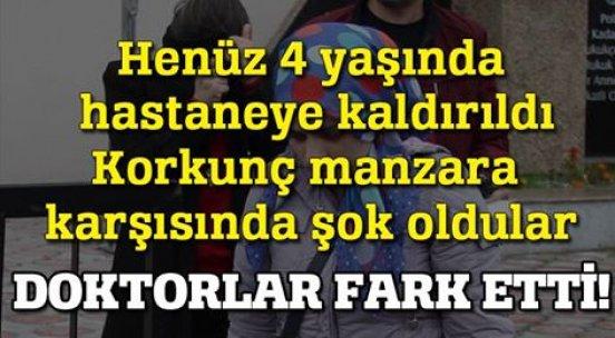 Tekirdağ'da 4 yaşındaki çocuğa işkence!