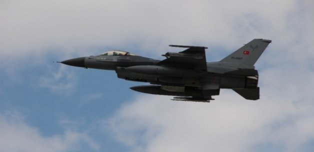 Terör örgütü hedeflerine hava operasyonu