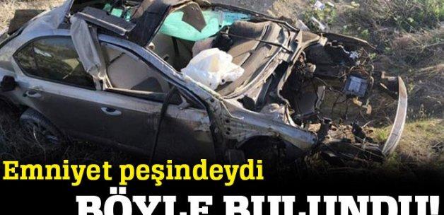 Terör şüphesiyle aranan araç kaza yaptı: 1 ölü