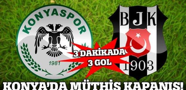 Torku Konyaspor 2-1 Beşiktaş
