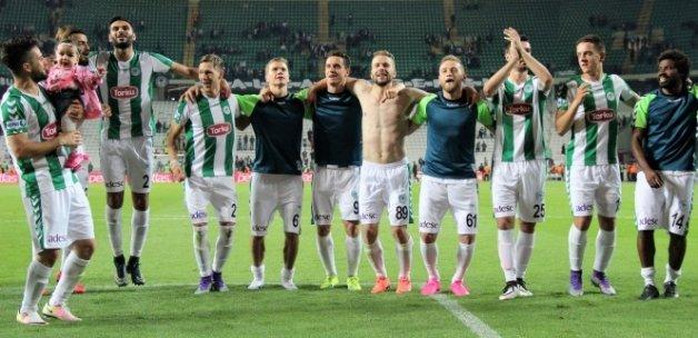 Torku Konyaspor Avrupa Ligi'ne doğrudan katılmayı garantiledi