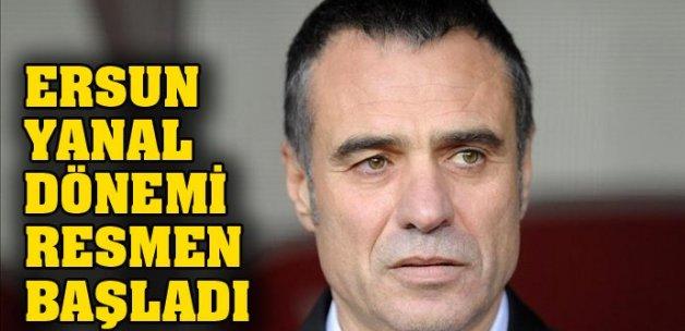 Trabzonspor, Ersun Yanal'ı KAP'a bildirdi