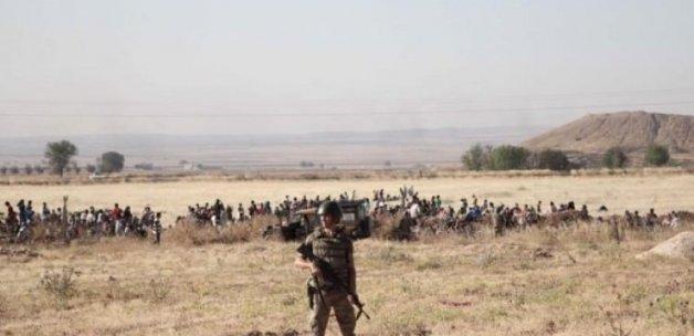 Türkiye sınırı yakınında şiddetli çatışmalar