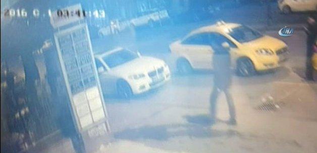 Ünlü gece kulübüne silahlı saldırı anı kamerada