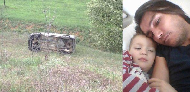 Uşak'taki kazada bir çocuk hayatını kaybetti
