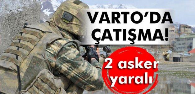 Varto'da çatışma: 2 asker yaralı