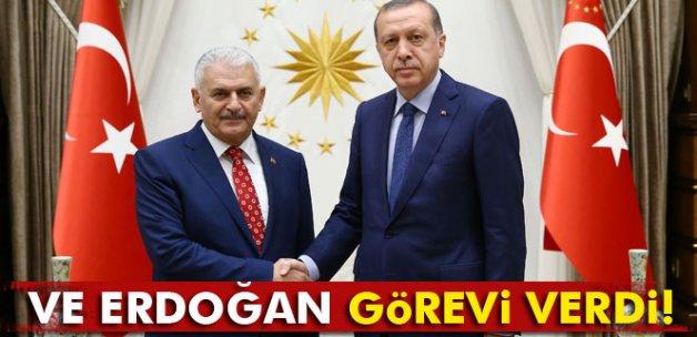 Ve Erdoğan görevi verdi
