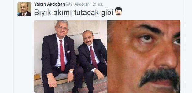 Yalçın Akdoğan'dan kafaları karıştıran tweet
