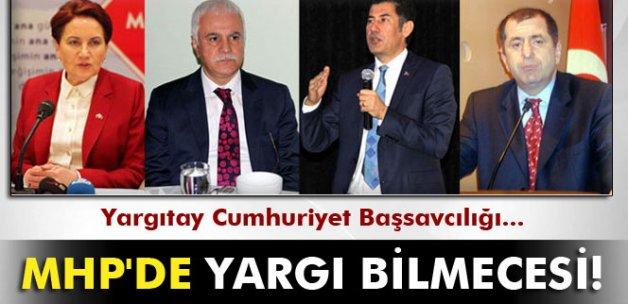 Yargıtay Cumhuriyet Başsavcılığı, MHP dosyasını istedi