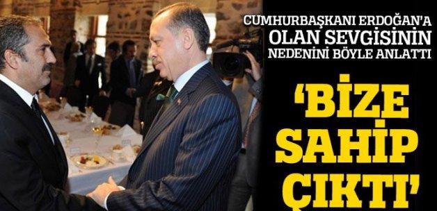 Yavuz Bingöl: Erdoğan bize sahip çıktı