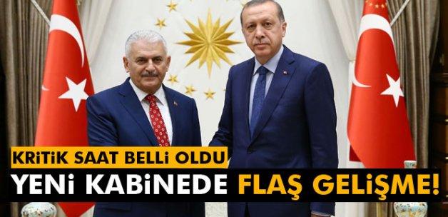 Yıldırım, kabine listesin yarın 10.00'da Erdoğan'a sunacak