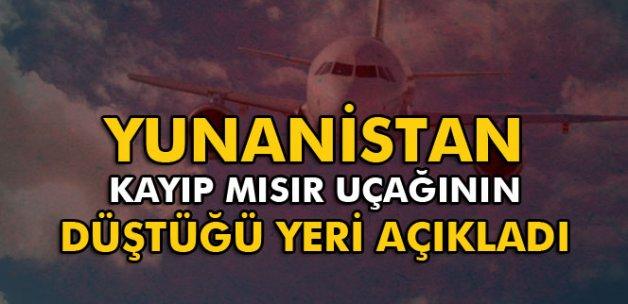 Yunanistan: 'Kayıp Mısır uçağı Kerpe adası açıklarında düştü'