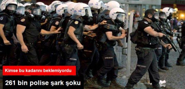 261 Bin Polisin Şark Hizmeti Uzatıldı