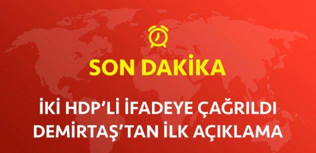 682 Fezleke Savcılara Gitti! İki HDP'li İfade Vermeyi Kabul Etmedi