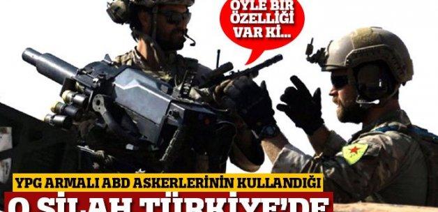 ABD özel kuvvetlerinin kullandığı müthiş silah Türkiye'de