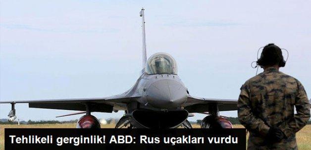ABD: Rusya, Suriye'de ABD'nin Desteklediği Muhalifleri Vurdu