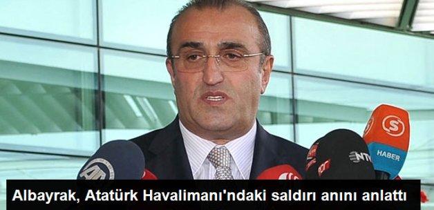 Abdurrahim Albayrak: Atatürk Havalimanı'nda 2 Yaralıya Müdahale Ettim