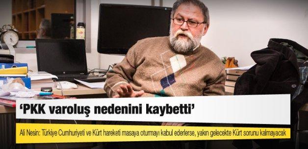 Ali Nesin: PKK varoluş nedenini kaybetti