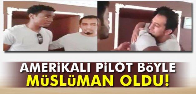 Amerikalı pilot İslamiyeti seçti
