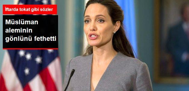Angelina Jolie, İftar Programında Konuştu: Herkes Eşittir