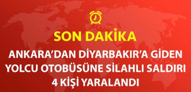 Ankara'da Yolcu Otobüsüne Silahlı Saldırı: 4 Kişi Yaralandı