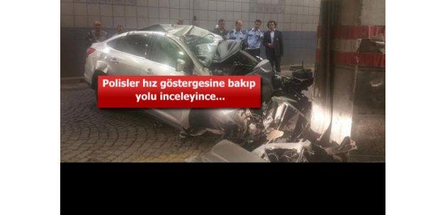 Ankara'da hız ölüm getirdi