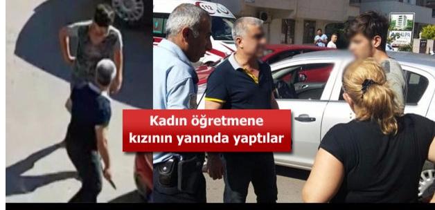 Antalya'da kadın öğretmene dayak ve bıçaklı saldırı