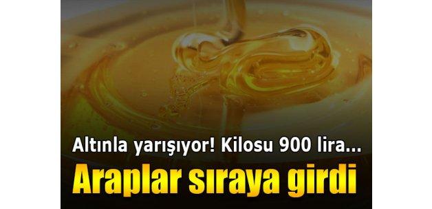 Anzer Balı'nın fiyatı altınla yarışıyor: Kilosu 900 lira...